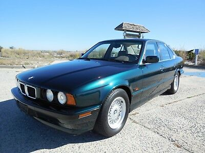 1995 BMW 5-Series Rare 540i 6 speed, 67k, Gorgeous, Serviced!! 1995 BMW 540i 6 speed manual, 67k miles, Stunning condition, completely serviced