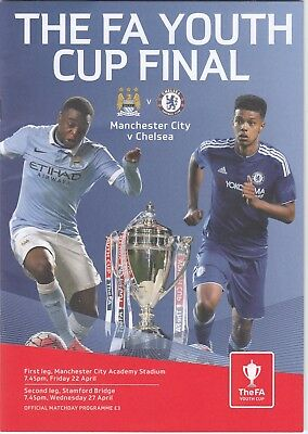 Chelsea Youth v Manchester City Youth 2015/16 (22 Apr) FAYC Final