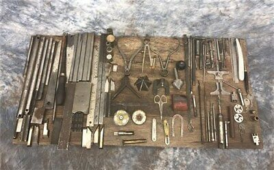 Assorted Small Machinist Mechanic Craft Files Rasps Woodworking Vintage Tools b