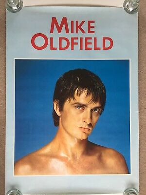 Mike Oldfield Poster - 82-83 - Ex Condition