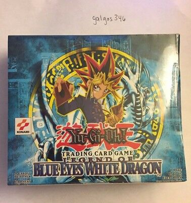 FACTORY SEALED ENG YuGiOh Legend of Blue Eyes White Dragon UNLIMITED Booster Box