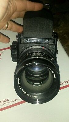 Kowa Six camera with two lenses