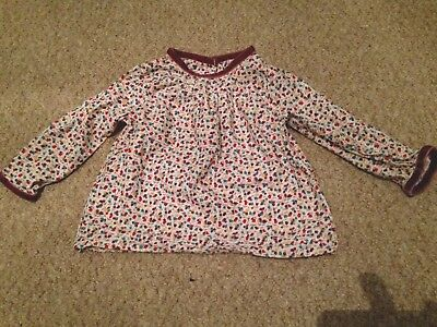 Jools Oliver Little Bird Blouse, Size 9-12 Months