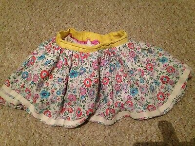 Jools Oliver Little Bird Skirt, Size 9-12 Months