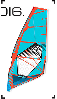 2016 Severne Blade 5.7 Blue/red Brand New for windsurfing