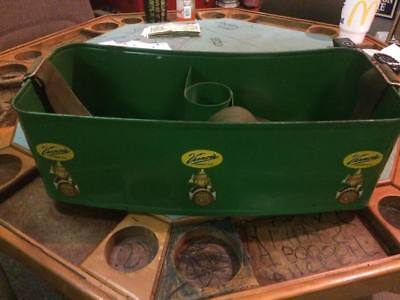 RARE Vintage Vernor's Stadium Carrier Bottle Cooler Soda Sign