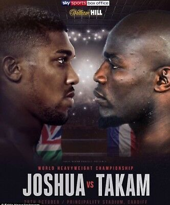 Anthony Joshua Central Cardiff Hotel 27th -28th October 4 Star *Bargain* 2 night
