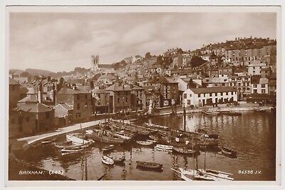 Postcard Real Photo Card  Brixham Valentines Unposted