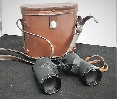 Vintage Bushnell  Binoculars 7 x 50 Featherweight with leather case