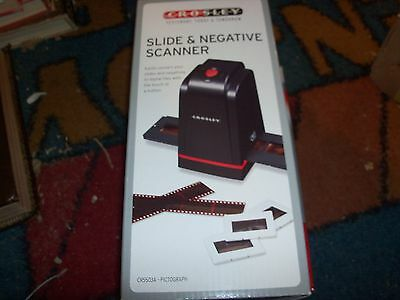 Crosley Pictograph CR5503A 35mm Slide and Negative Scanner