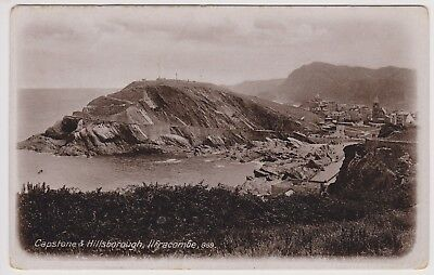 Postcard Capstone and Hillsborough Ilfracombe Posted 1913