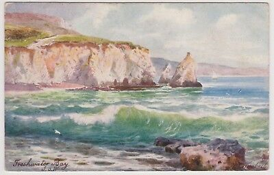 Postcard Freshwater Bay Isle of Wight Posted 1906 Tucks Card