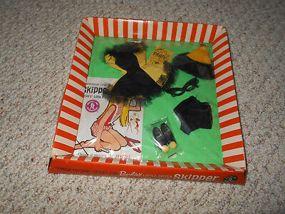 Vintage Skipper 1903 MASQUERADE Complete Tagged Outfit  Mint in box 1964-65
