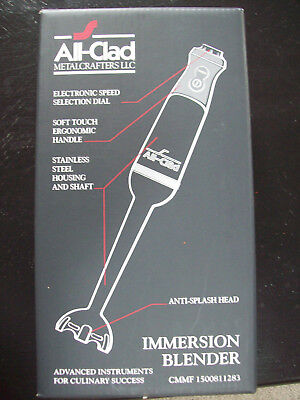 All-Clad KZ750D Stainless Steel Immersion Blender Brand New SEALED
