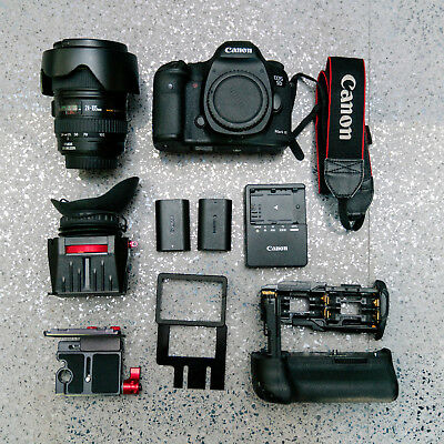Canon EOS 5D Mark III DSLR with 24-105mm f/4L Lens, Battery Grip & Zacuto Z-Find