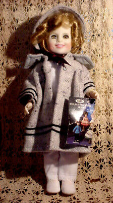 """VTG 1983 12"""" Star Shirley Temple Doll Orig. Movie Mounted Police Outfit Tag Mint"""