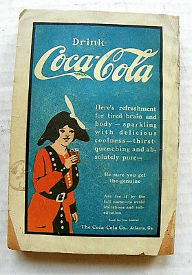 """1900's STREET & SMITH MINI BOOK WITH """"DRINK COCA-COLA"""" ADVERTISEMENT"""