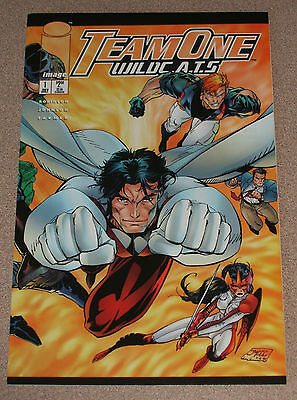 Team One : Wildcats #1-2 Image Nm Jim Lee Cover