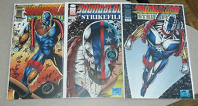 Youngblood Strikefile #1-5,8 Nm Image Rob Liefeld
