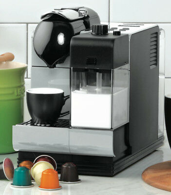 NEW Nespresso EN520S DeLonghi Lattissima Plus Capsule Machine