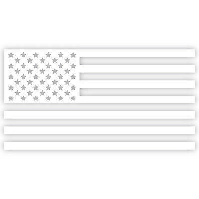 "United States US Flag 6"" Decal Sticker Vinyl Stars Stripes Patriotic Country"