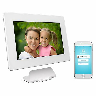 Photospring 10 16GB Wi-Fi Digital Photo Frame with Touchscreen and Battery