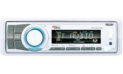 Boss Audio MR752UAB Bluetooth CD/MP3 Marine Stereo with GEN BOSS AUDIO WARR