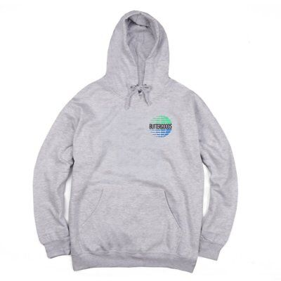 Butter Multinational Hoodie Heather Grey
