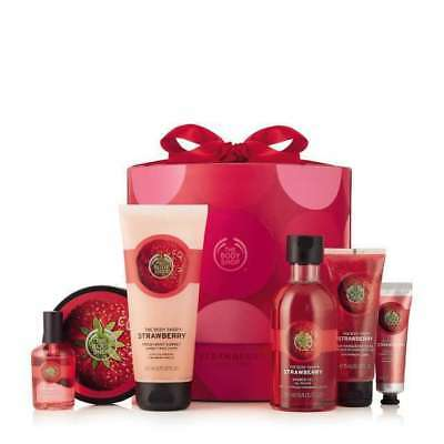 New Vegetarian The Body Shop Strawberry Ultimate Collection