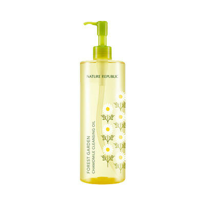 [NATURE REPUBLIC] Forest Garden Chamomile Cleansing Oil - 500ml / Free Gift