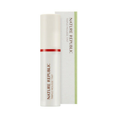 [NATURE REPUBLIC] By Flower Triple Mousse Tint - 4.5g / Free Gift