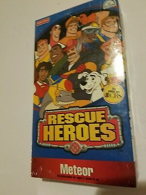 NEW Rescue Heros VHS Meteor