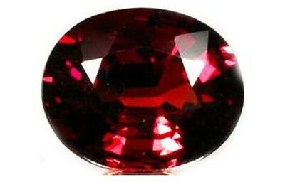 Red Spessart 3¾ct+ Antique 19thC Bavari - Ancient Greek Underworld God Hades Gem