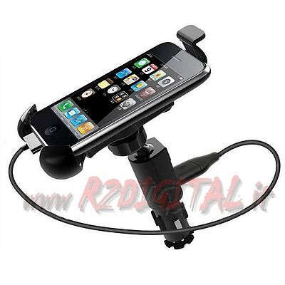 Support Voiture Allume-Cigare Smartphone Chargeur Usb 1.5A Iphone Gps Adaptateur