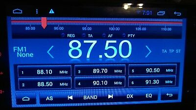 Double din car stereo navigation Android 5.1 GPS Wifi