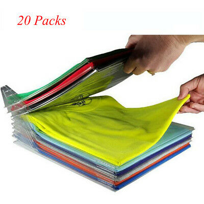 20 Pcs EZSTAX Clothes Organizer System Closet Drawer Desk Cabinet Organization
