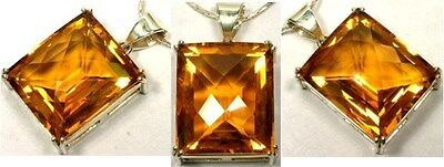 Handcrafted 46ct Scotland Citrine Ancient Silk Route Gem India Greece Rome Egypt