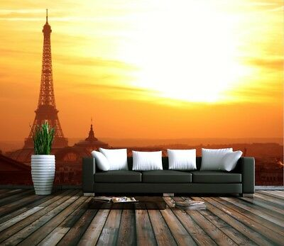 3D Twilight Paris 7  Wall Paper Murals Wall Print Wall Wallpaper Mural AU Summer