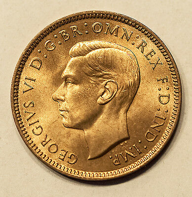 Great Britain Farthing Unc, 1939