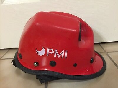 Pacific R5 Rope Rescue Extrication Helmet w Torch Pod Safety Wildfire Kevlar