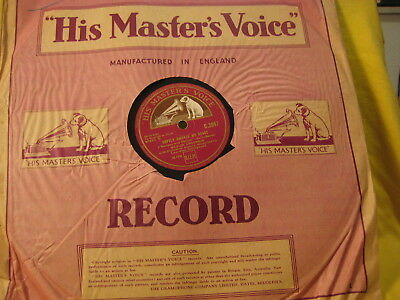 """12"""" - Saint- Saens/ Marion Anderson: Love, Come to Aid/ Heart Awakes - 1931 UK"""