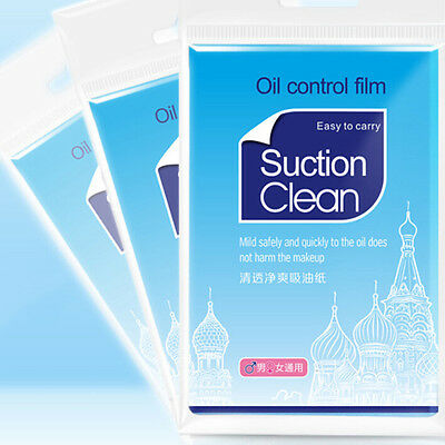 1 pack Clean and Clear Oil absorbing sheets Oil Control Film Blotting Paper WF