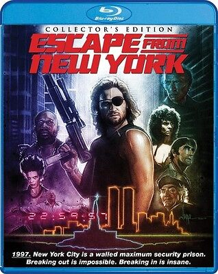 Escape From New York (2015, Blu-ray NIEUW)2 DISC SET