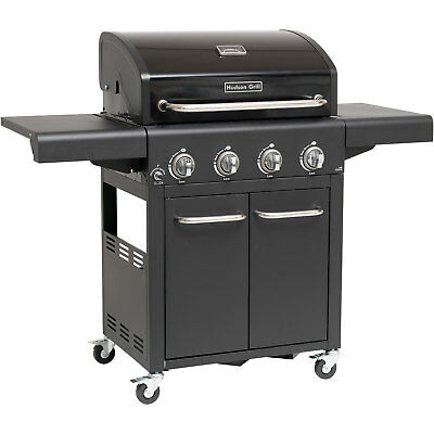 Hudson by Outdoorchef Profi Gas Grill Station Wagen Edelstahl Brenner Gussrost