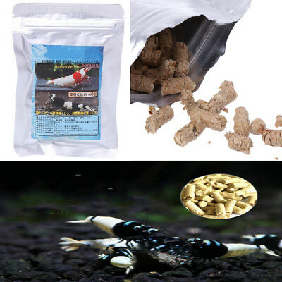 40g Snow Natto Shrimp Snail Food Feed Feeding For ALL BOTTOM TROPICAL FISH
