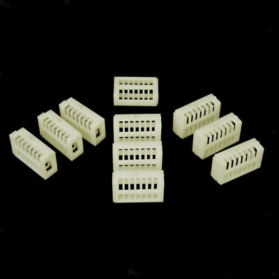 10pcs Functional Queen Cage Bee Match-box Moving Catcher Cage Beekeeping