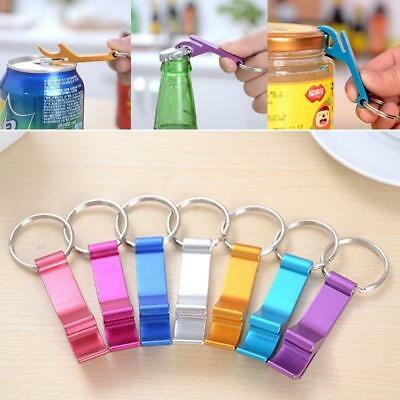 Key Chain Beer Bottle Can Opener Beverage Ring Claw Bar Pocket Useful Tool Hot