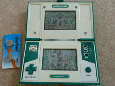 Greenhouse Nintendo Game And (&) Watch Game Rare
