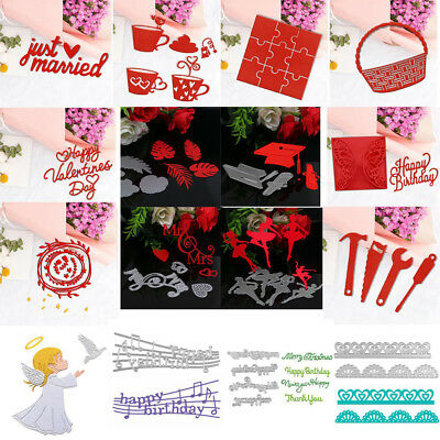 Christmas Series Metal Cutting Dies Stencil Scrapbooking Cards Embossing Die-Cut