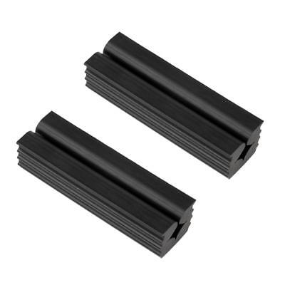 2 Pieces Premium Quality Rubber Vise Clamp for Golf Club Shafts, Regripping